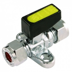Gas Tap (8mm) with Foot Plate